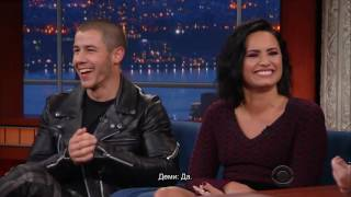 A Young Demi Lovato Had The Hots For Barney (rus sub)