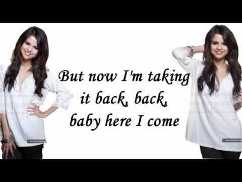 Middle Of Nowhere-Selena Gomez & The Scene (Lyrics On Screen)