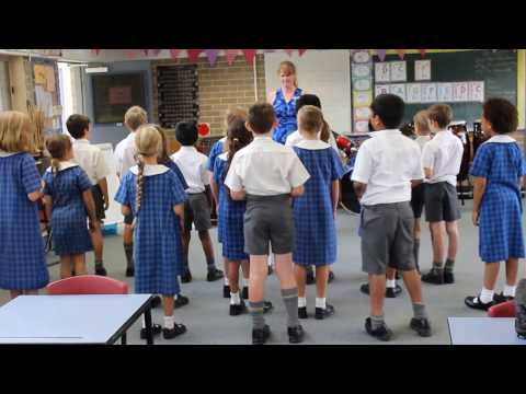 Covenant Christian School Primary Music Class