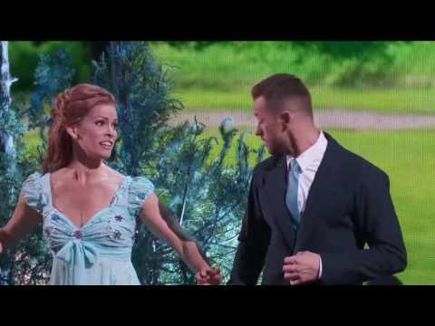 DWTS Season 24 Disney Night - Nancy Kerrigan - Enchanted (Jazz)