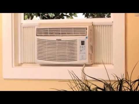 Learn How To Install A Haier Air Conditioner Into Double Hung Window You