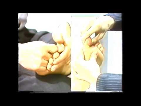 Guangdong TV Reflexology Teaching by Thomas Lin Cantonese 1992 part 3