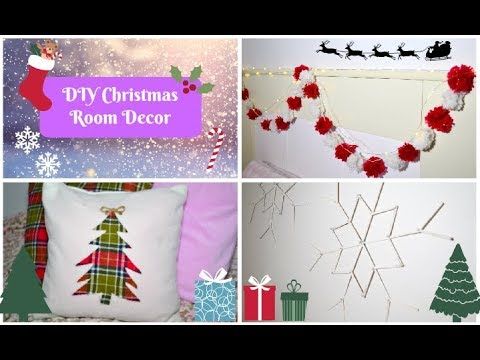 DIY CHRISTMAS ROOM DECOR - Cute and Easy! |P.G.P Crafts