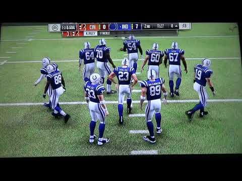 Madden: Indianapolis Colts Vs Cincinnati Bengals (Super Bowl-Overtime)