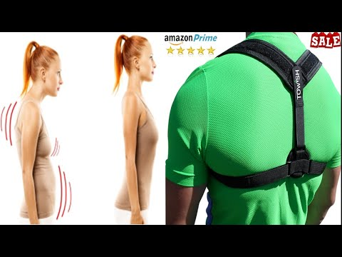 Solution for Back pain, Posture correction brace by TOWISH