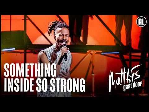Jeangu Macrooy ? (Something Inside) So Strong | Matthijs Gaat Door
