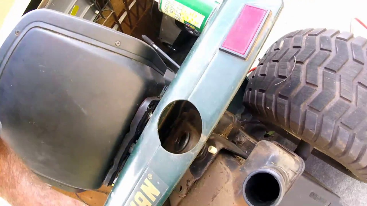 Craftsman Lawn Tractor Fuel Tank Removal Youtube