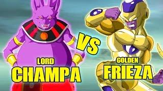 Champa Vs Golden Frieza | Dragon Ball Xenoverse MODS