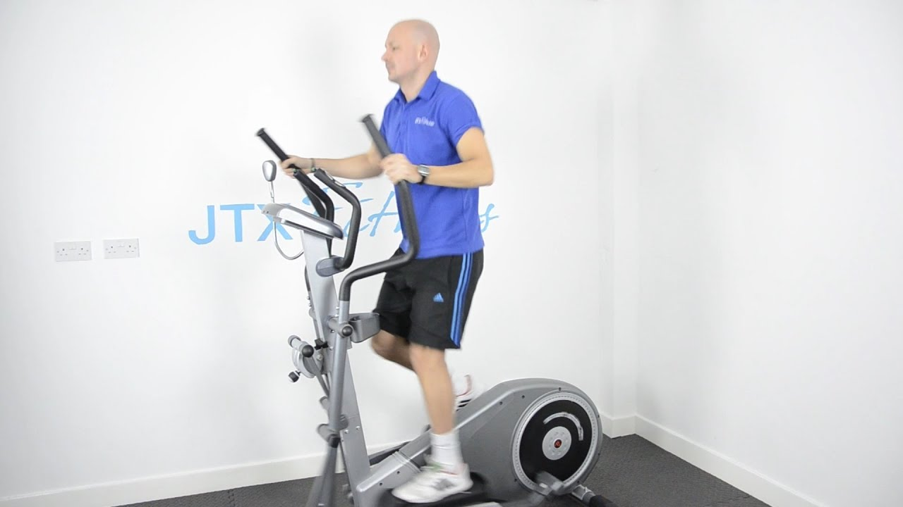 How To Use A Cross Trainer - YouTube