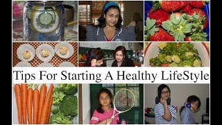 In this video i have shared some tips of starting a healthy lifestyle and will make you happy at the end day.i shown how to start ...