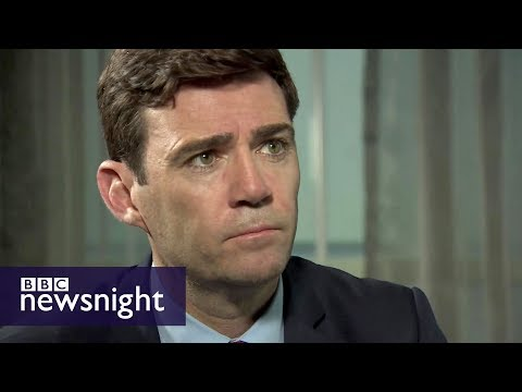 Greater Manchester Mayor Andy Burnham: 'It's all about solidarity' - BBC Newsnight