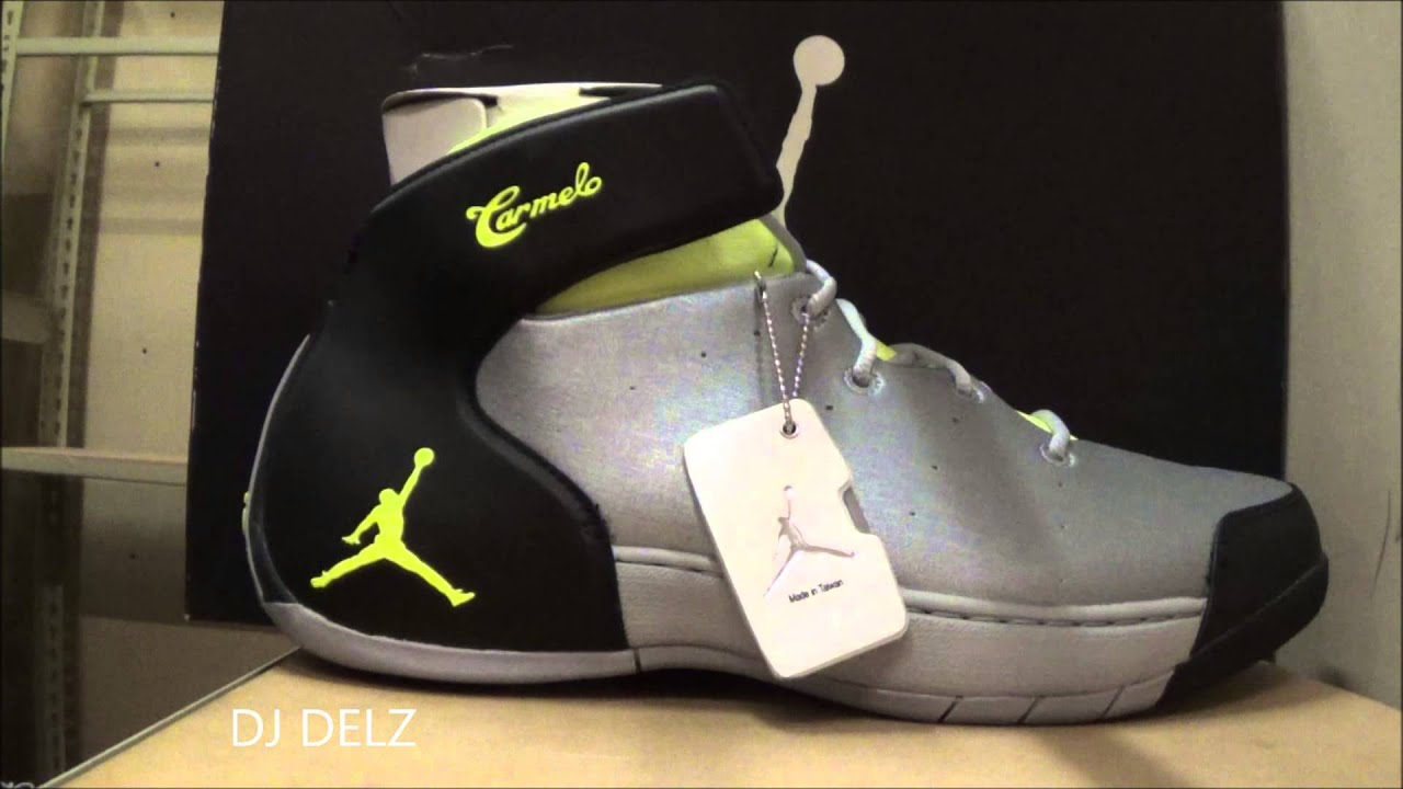 2014 Air Jordan 1.5 Melo Grey Volt Sneaker Review With @DjDelz Dj Delz +  Yeezy Iphone Case