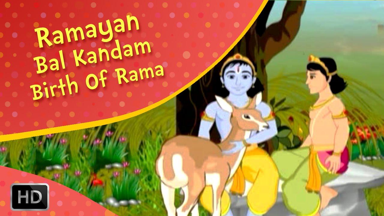 Ramayan Full Movie - Bala Kandam - The Birth of Rama - Animated / Cartoon  Stories for Kids - Epic