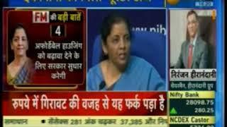 Niranjan Hiranandani on Real Estate Fund :Zee Business News