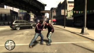 "Game Fails: GTA IV ""Rock paper scissors... truck"""