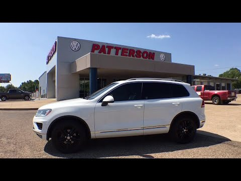 2017 Volkswagen Touareg Tyler, Longview, Lufkin, Nacogdoches, Shreveport, TX 115790A