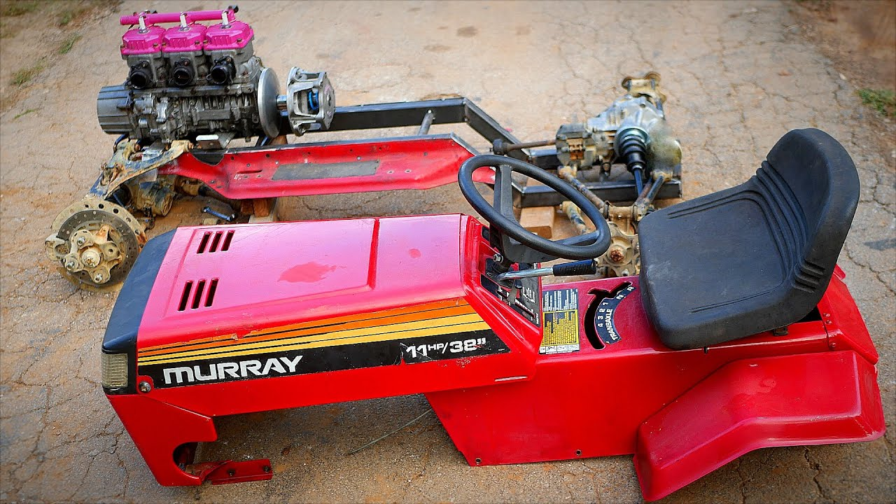 4wd 110Hp Ultimate Racing Mower Gets TRUE 4x4 Part 2