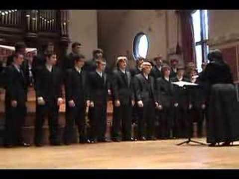 Go Down, Moses - CHS Varsity Men's Choir