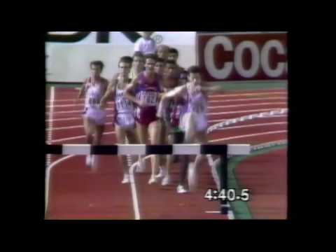 3574 World Track & Field 1991 3000m Steeplechase