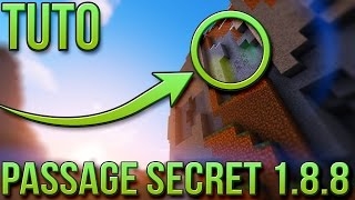 PASSAGE SECRET FACILE 1.8.8 | Minecraft