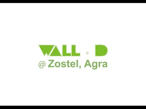 Wall D @ Zostel, Agra