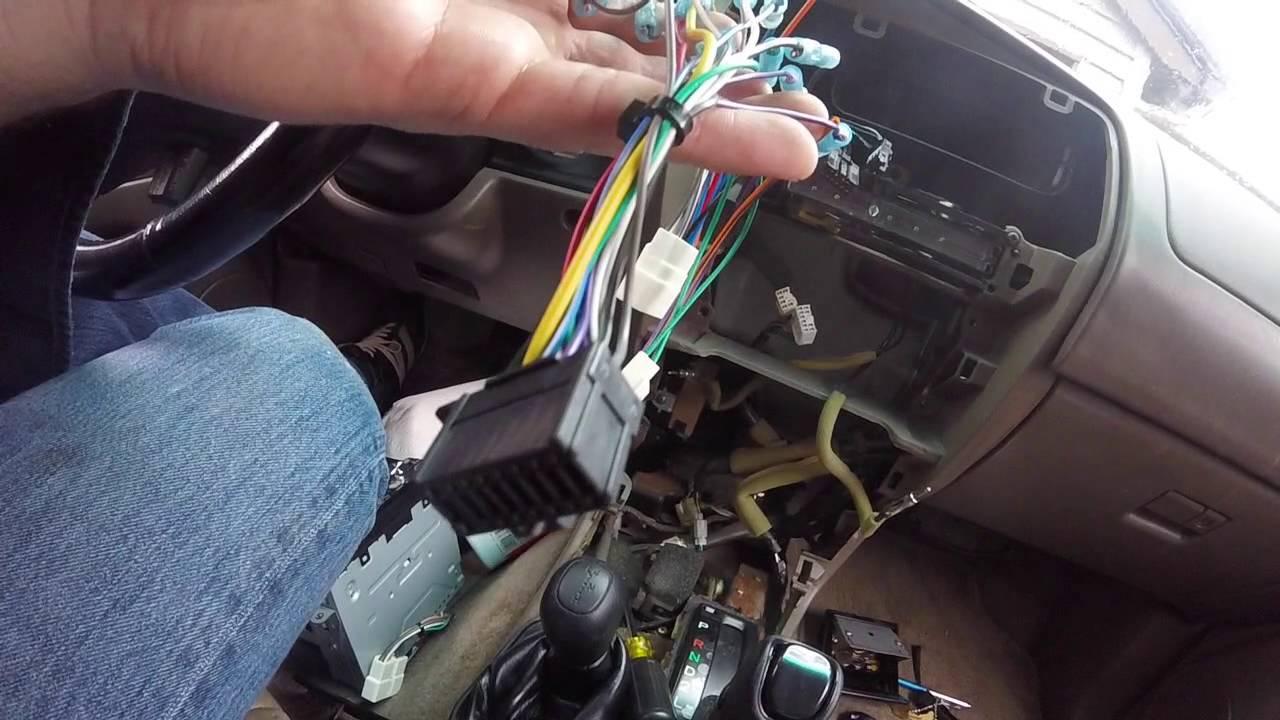 Toyota 4runner Stereo Installation