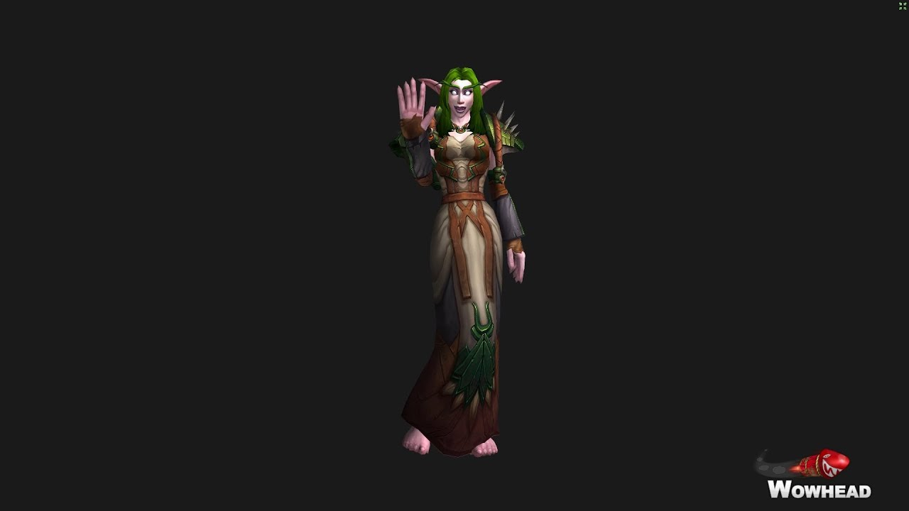 elf World night of feet warcraft