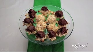 Cookie Recipes - How To Make Coconut Macaroons