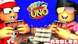 😱 the BEST MATCH OF UNO OF ALL TIME in ROBLOX