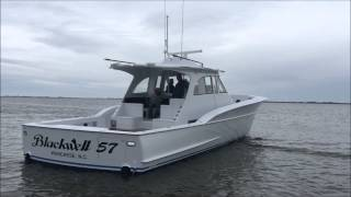 57' Blackwell Center Console