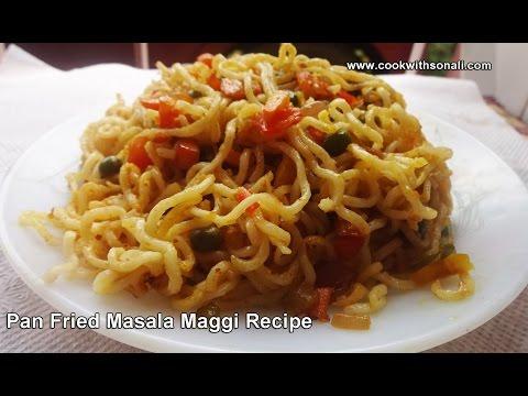 Fried Maggi Noodles Recipe-Maggi Recipe-Street food Maggi Recipe-Quick and Easy Masala Maggi recipe