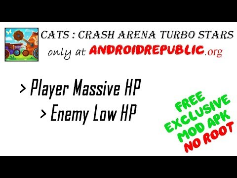 cats crash arena turbo mod apk 2.12.2