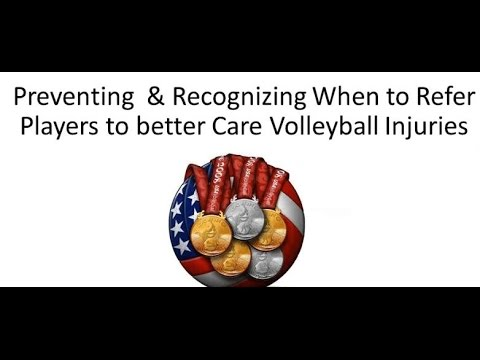 Preventing Volleyball Injuries