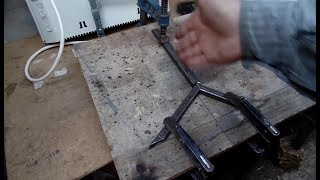 Ножки для электроконвектора с помощью моего сварочного аппарата