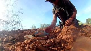 Adventure #1 Day 5, Camping and Prospecting in the West Australian Outback