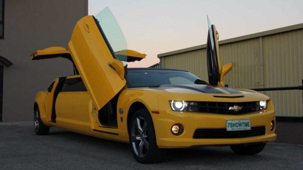 SLIDES 2013 Chevrolet Camaro Bumblebee Limousine - YouTube