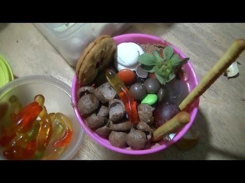 Jakarta Street Food 581  Brani Red Land Ice Cream Pot Tanah Merah Milo BR TiVi 4102