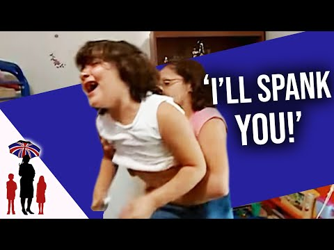Kids Refuse To Clean Their Bedroom  | Supernanny