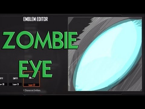 Black Ops 2 - Zombie Eye Emblem Tutorial