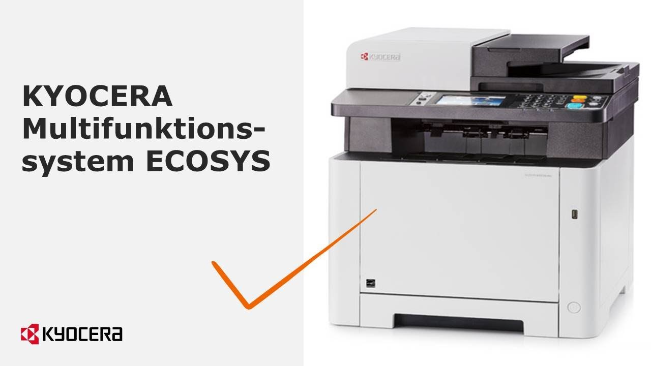 KYOCERA Multifunktionssystem ECOSYS M5526cdw im FACTS ...