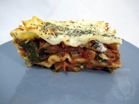 recette-des-lasagnes-végétariennes