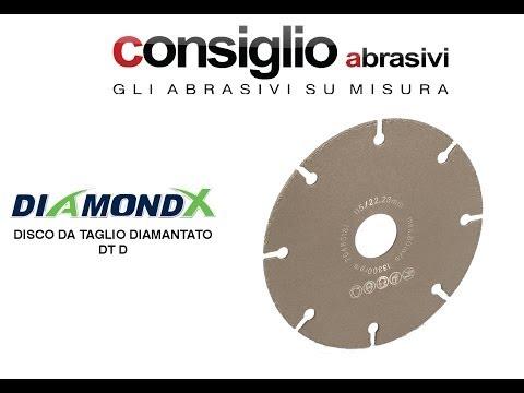 DT D - Disco da taglio diamantato - DiamondX®