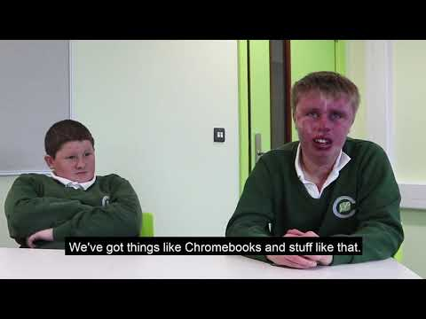 What do you like about your new Clarendon School building?