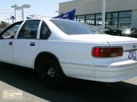 Al Piemonte Chevy >> 1996 Chevrolet Caprice Police/Taxi Pkgs #xp16344b in - SOLD - YouTube