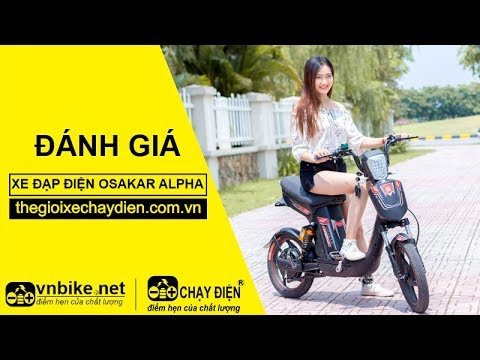 Đánh giá xe đạp điện Osakar Alpha