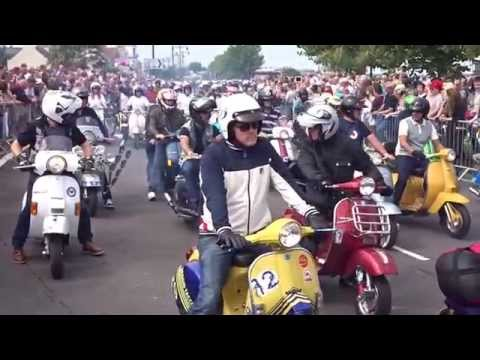 ISLE OF WIGHT SCOOTER RALLY 2015 by rob yalden