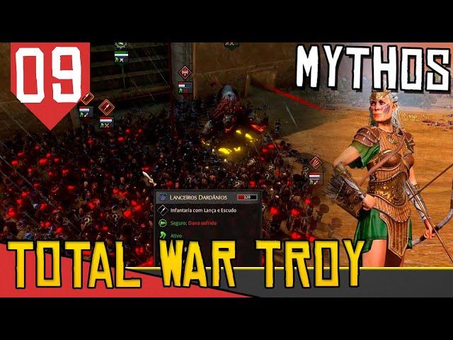 Esqueci o FLOQUINHO Dentro da Cidade - Total War Saga Troy Hipólita #09 [Gameplay PT-BR]