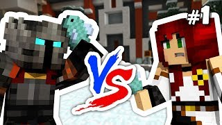 Minecraft: Let the FISH SLAPPING begin! - Minegame Blitz [1/?]