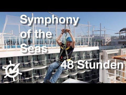 48 Stunden Symphony of the Seas - Vlog (Royal Caribbean International)