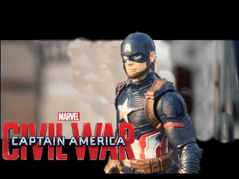 Marvel's Captain America: Civil War - Trailer 2 Done in STOP MOTION